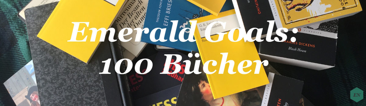 "Emerald Goals: ""100 Bücher""-Liste"