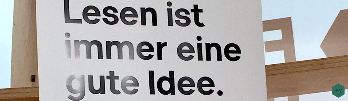 Bericht: Frankfurter Buchmesse am 11. Oktober 2018
